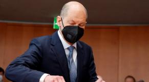 Olaf Sholtz - ministre allemand des finances - Allemagne