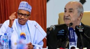 Crise en Algérie et au Nigeria: les pénuries pour l'une, l'endettement intelligent pour le second Tebboune Buhari