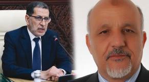 Saâd Eddine El Othmani - El Mouloudi Benhamane, président de la FNBTP