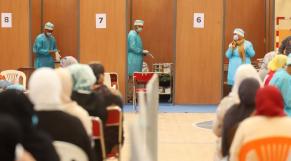 Marrakech - centre de vaccination