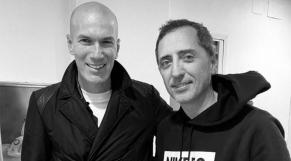 Gad Elmaleh et Zinédine Zidane