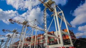 Grues port Tanger Med 2