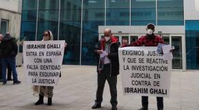 Manifestation - Espagne - hôpital San Pedro de Logroño - Victimes Polisario
