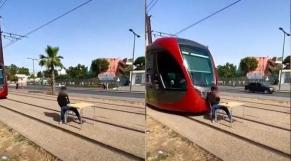 Obstruction du tram-Casablanca