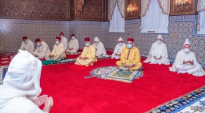 Roi Mohammed VI - dimanche 1er choual -24 mai 2020 - prière Aïd El-Fitr