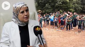cover vidéo حصري جميلة لمصلي تحكي عن استعدادات المغرب لاستقبال القاصرين العائدين من أوروبا