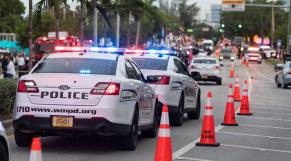Etats-Unis - Fort Lauderdale - Floride - Attaque - Gay pride