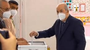 Tebboune vote