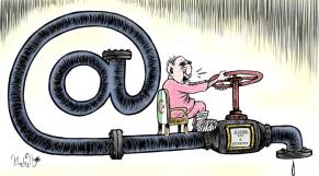 Dessin24Juin: En Algérie, le débit fait grincer des dents pour l'eau et Internet