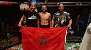 De gauche à droite: Abou Bakr, Ottman et Omar Azaitar.