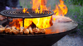barbecue - charbon - brasero - grillages