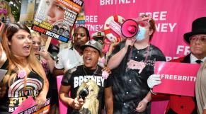 Britney Spears - FreeBritney - Audience - Los Angeles - Californie - Fans - Soutiens