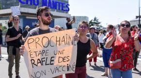 Coronavirus - Pass Vaccinal - France - Manifestations - Protestations - Vaccin - Covid-19 - Nantes - CHU de Nantes