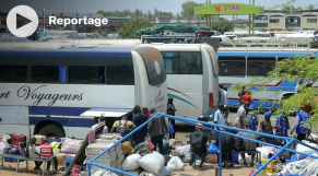 Vidéo. Sénégal: la troisième vague du Covid-19 n'a pas freiné les voyageurs lors de la tabaski