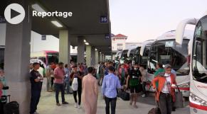 cover أجواء السفر بمحطة طنجة الطرقية