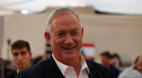 Benny Gantz, ministre israélien de la Défense