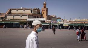 Marrakech - Jemaâ El Fna - Tourisme - Covid-19