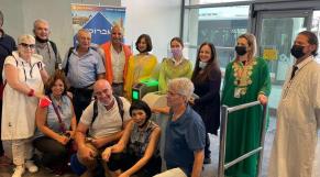 Vol inaugural Israir - vol commercial Tel Aviv - Marrakech - Maroc-Israël - Touristes israéliens
