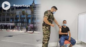 Cover Vidéo -  شاهد أجواء عملية تلقيح المواطنين بملعب طنجة الكبير