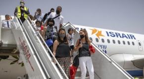 Touristes israéliens