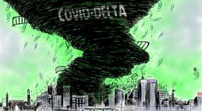 cover: Covid-19: et voici le variant DELTA!