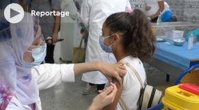 Cover Vidéo -  Casablanca: Voici comment a démarré la vaccination des 12-17 ans