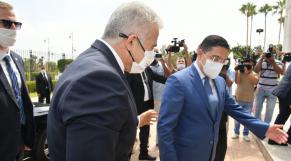 Yaïr Lapid - Nasser Bourita - Visite officielle Rabat - Israël - Maroc