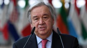Antonio Guterres - Nations Unies - ONU - secrétaire général ONU
