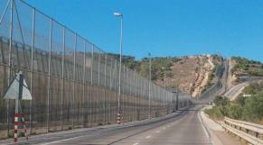 Frontière Melilla - Grillage - Préside occupé de Melilla -