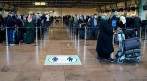 Belgique - Aéroport de Bruxelles - Zaventem - Coronavirus - Enregistrement passagers