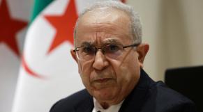 Ramtane Lamamra - ministre algérien des Affaires étrangères