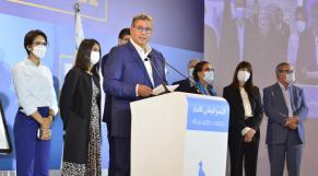 Aziz Akhannouch - RNI - Elections 2021 - Conférence de presse - siège du parti