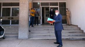 Akhannouch dépose son dossier à la mairie d'Agadir