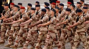 Forces armées françaises - Barkhane - Défilé du 14-Juillet - Parade Champs-Elysées
