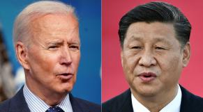 Joe Biden - Xi Jinping - Etats-Unis - Chine