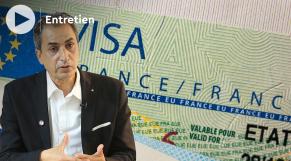 Cover - Moins de visas français pour les Marocains - Abdelghani Youmni - conseiller consulaire