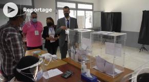 Cover - élections-2021 -observateurs de France - bureaux de vote à Salé