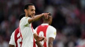 Noussair Mazraoui, latéral droit de l'Ajax Amsterdam.