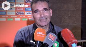 """Cover_Vidéo. Hicham Dguig: """"Le Maroc est parmi les huit meilleures équipes du monde"""""""