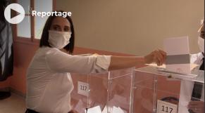 Cover - élections 2021 - Nabila Mounib - vote Casablanca