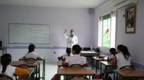 Ecole - Salle de classe - élèves - Scolarité - Taza -