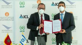 UM6P - Université Ben Gourion du Néguev - Enseignement supérieur - protocole d'accord