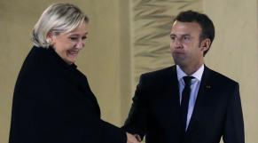 Emmanuel Macron - Marine Le Pen - Elysée - Présidentielles - Président de la République française