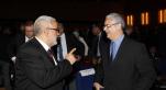 Assises Ntionales sur la Fiscalité  skhirat 29 Avril 2013  abdelilah benkirane 1 er Ministre et Nizar Baraka Ministre des finances