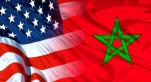 Drapeaux Maroc - usa