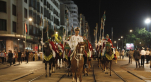 Parade Garde Royale le 29 juillet 2013 bd Zerktouni. av Hassan 2. place Mohammed V - 9