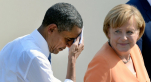 Barack Obama et Angela Merkel