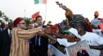 Le roi Mohamed VI à Abidjan