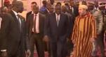 capture arrivée Mohammed VI