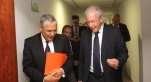M'Hammed ABBAD ANDALOUSSI. Président Directeur Général d'INJAZ Al-Maghrib et Mohamed El Kettani, le PDG d'AttijariWafa Bank